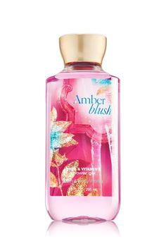 Amber Blush Shower Gel - Signature Collection - Bath & Body Works