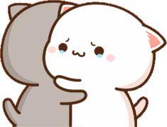 Cute Cartoon Images, Cute Love Cartoons, Cartoon Pics, Cute Cartoon Wallpapers, Cute Kawaii Animals, Kawaii Cat, Kawaii Anime Girl, Chibi Cat, Cute Chibi