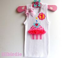 Newborn baby girl lace pink or white singlet tank brooch flower birthday tank baby singlet cupcake personalised by lilbirdieshop 2200 negle Images
