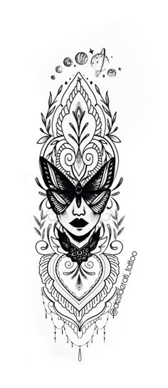 Simple Mandala Tattoo, Mandala Tattoo Design, Tattoo Designs, Luna Tattoo, Arm Tattoo, Sleeve Tattoos, Life Tattoos, Tattoos For Guys, Mandala Sleeve