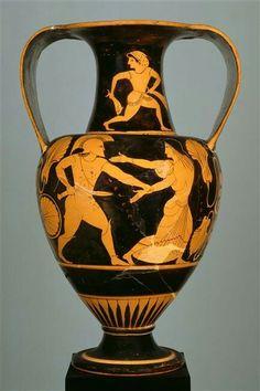 Greek Red-Figure Pottery