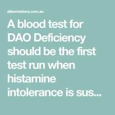 New Study Finds DAO Deficiency Accounts for Over Of All Histamine Intolerance Histamine Intolerance Symptoms, Alcohol Intolerance, Health And Nutrition, Health Tips, Oral Allergy Syndrome, Low Histamine Foods, Action For Happiness, Mast Cell Activation Syndrome, Autonomic Nervous System