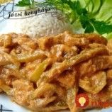 Falešný stroganoff z kuřecího masa – tohle trumfne i originál. Turkey Recipes, Keto Recipes, Chicken Recipes, Cooking Recipes, Modern Food, Meat Chickens, Food 52, Food And Drink, Pork