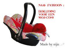 Madebynijn: patroon bekleding voor maxi cosi