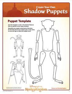 Monkey Kingdom Shadow Puppets