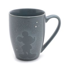 Mickey Mouse Grey Mug, Stardust Collection
