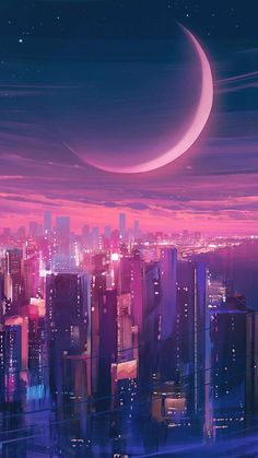 Cityscape Synthwave IPhone Wallpaper - IPhone Wallpapers