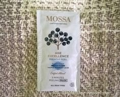 Mossa Cosmetics-Age Excellence Miracle Peeling Peeling Mask (sample) #mossacosmetics #facemask #peelingmask #sample #campioncino