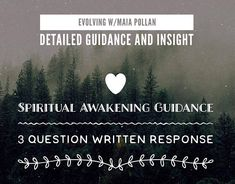 Spiritual Awakening - Ascension Symptoms/Dimensions/ Kundalini/ Lucid Dreaming/ Polarity Imbalance/ Emotional Set-Backs - 3 Questions