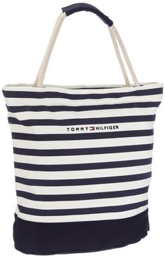 Tommy Hilfiger Women's Sailor I Small Rope Tote Canvas Beach Bag: Amazon.co.uk: Shoes & Accessories