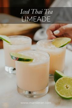 This cool and refreshing drink is simple to make and can be spiced up or sweetened to taste. Make up a batch for your next party or mix up one for yourself! Easy Mocktail Recipes, Summer Drink Recipes, Summer Drinks, Pina Colada, Thai Tea Recipes, Best Non Alcoholic Drinks, Sangria Cocktail, Blender, Refreshing Drinks
