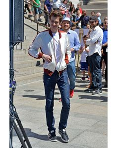 Andrew Garfield The Amazing Spider-Man Red-Carpet Looks: Style: GQ