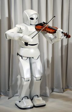 Toyota's Mobiro, the Robotic Violinist.