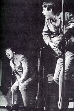 Eric Burdon and Chas Chandler