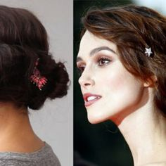 Beauty GIFs: How to Get Keira Knightley's Romantic, 'Stars in Eyes' Updo