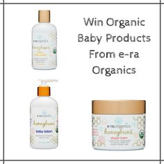 e-ra Organics Baby Products Prize Pack #Giveaway!! #2016HGG (ends 11/21)