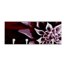 Deep Purple Flower Key Hanger. Click to see this design on other products.