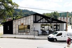 Commercial Architectural project in South Slope Asheville By Form & Function Architecture.