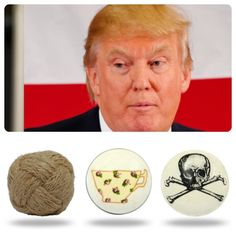 Every mood tells a story! So much fun matching our ceramic and glass vintage cabinet knobs to the images Prices start from and amazing £1.95 / $2.85 #ceramicknobs #upcycle#upcycling #doorknobs #glassknobs #DonaldTrump