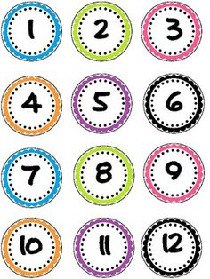 This document contains 36 colorful student number labels. You can use these to label lockers, cubbies, books, desks or anything you can think of! I have also included 6 blank labels as well! Number Labels, Blank Labels, Student Numbers, Student Desks, Classroom Organization, Classroom Decor, Math Boards, Printable Numbers, Numbers Preschool