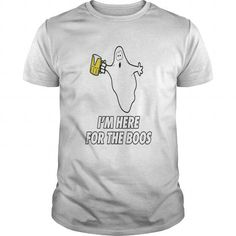 Awesome Tee  I M Here For The Boos Shirts & Tees