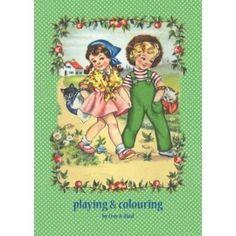 Speel- en kleurboek van Froy & Dind