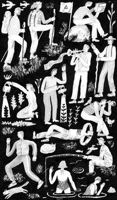 The Idler - Holly Mills Illustration