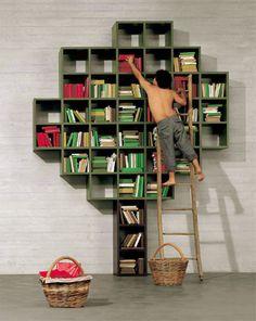 Knjižna omara Book, Lago