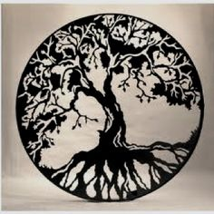 celtic style tree of life. would make a beautiful tattoo.
