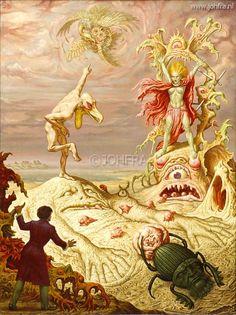 Johfra  Bosschart - Maldororserie: De minnaars. Wat komt er over een heuveltje? (January 26, 1978)