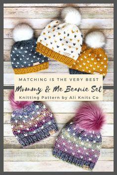 Motifs Beanie, Crochet Beanie Pattern, Knit Crochet, Crochet Patterns, Kids Crochet Hats Free Pattern, Fair Isle Knitting Patterns, Knitting For Kids, Easy Knitting, Crochet For Kids