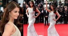 Aishwarya Rai At Cannes 2014 Is Flawless In White Gown