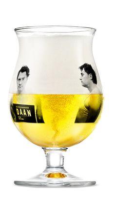Duvel beer glass by Daan Stuyven