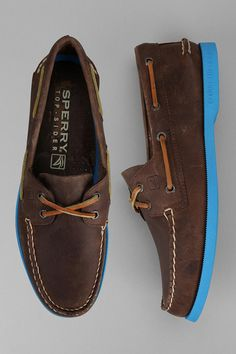 Sperry Top-Sider Neon Sole Boat Shoe