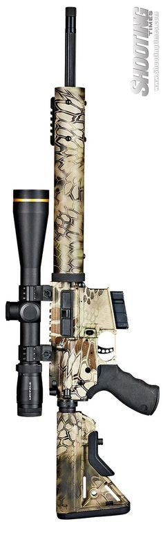 Alexander Arms 6.5 Grendel Hunter Custom - #sniper #longshot