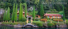 Villa La Cassinella, Lake Como