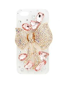 Crystal Bow Phone Case - 5: Charlotte Russe