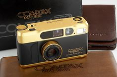 Contax T2 Gold '60 Years' : Lot 540