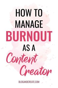 My Experience With Burnout And 9 Tips To Overcome Business Tips, Online Business, Business Journal, Business Education, Business Quotes, Wordpress, Thing 1, Content Marketing Strategy, Startup