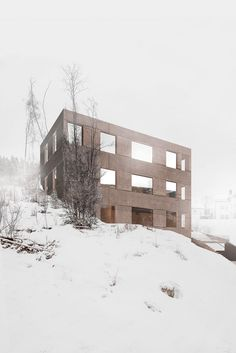House HK — Sanden Hodnekvam Arkitekter / Arkitekt Nesodden