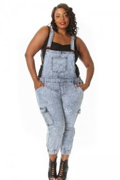 ✨HP Lane Bryant Denim Overall Shorts Plus Sizes ~Highly Rated 5 ...