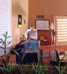 Amazing paper creations of Art-studio «People too»