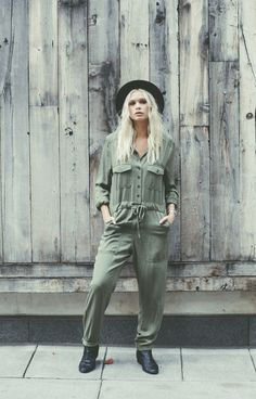 The Army of One overall, the perfect one piece outfit