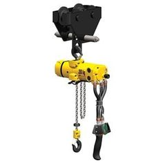 Air Chain Hoist, 1100Lb, MBH12.75In, Trlley by Ingersoll-Rand. $4193.05. Air Chain Hoist, Medium Duty Production, Capacity 1100 Lb, Lift 10 Ft, Lift Speed 0 - 16 FPM, Min Between Hooks 18.6 In, Number of Parts of Chain 2, Self Adjusting Brake, Housing Length 12.78 In, Housing Width 5.12 In, Overall Length 12.78 In, Overall Width 5.12 In, Inlet Size 3/8 In NPT, Air Pressure 90 PSI, Air Consumption 32 SCFM, Pendent Control, Trolley Suspension, Push, Fits Beam Fl...