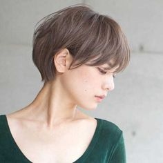Pin on hair Thin Hair Short Haircuts, Short Hair Styles For Round Faces, Short Hair Cuts, Medium Hair Styles, Japanese Short Hair, Asian Short Hair, Very Short Hair, Asian Haircut Short, Hair Inspo