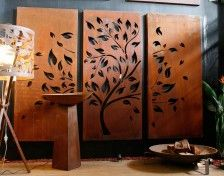 PO Box DesignsLittle Bare Tree and Birds (Narrow) Set Design This portrait orientation triple set is intricately designed and laser cut with precise detail and creates a stunning feature in any environment. It can be used indoors or outdoors and also looks brilliant with backlighting....