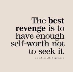 Revenge- just not worth it