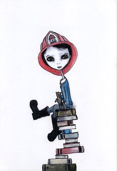 deviantart    reminds me of Fahrenheit 451 by Ray Bradbury... One of my all time favorite books!