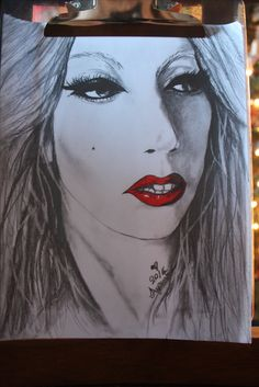 My second drawing of Stefani Joanne Angelina Germanotta, known professionally as Lady Gaga. Plz feel free to comment Artwork by ASPENN F Horse Art, Lady Gaga, My Drawings, Musicians, Halloween Face Makeup, My Arts, Horses, Amazing, Artwork