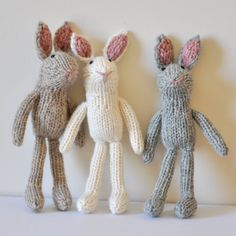 KNITTING PATTERN Little Rabbit by thiscosylife on Etsy, $5.00